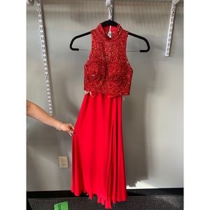 Dresses & Skirts - Two Piece Formal Red Set